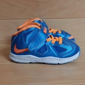 Nike Lebron X Size 6C TD Toddler Shoe 543566-402